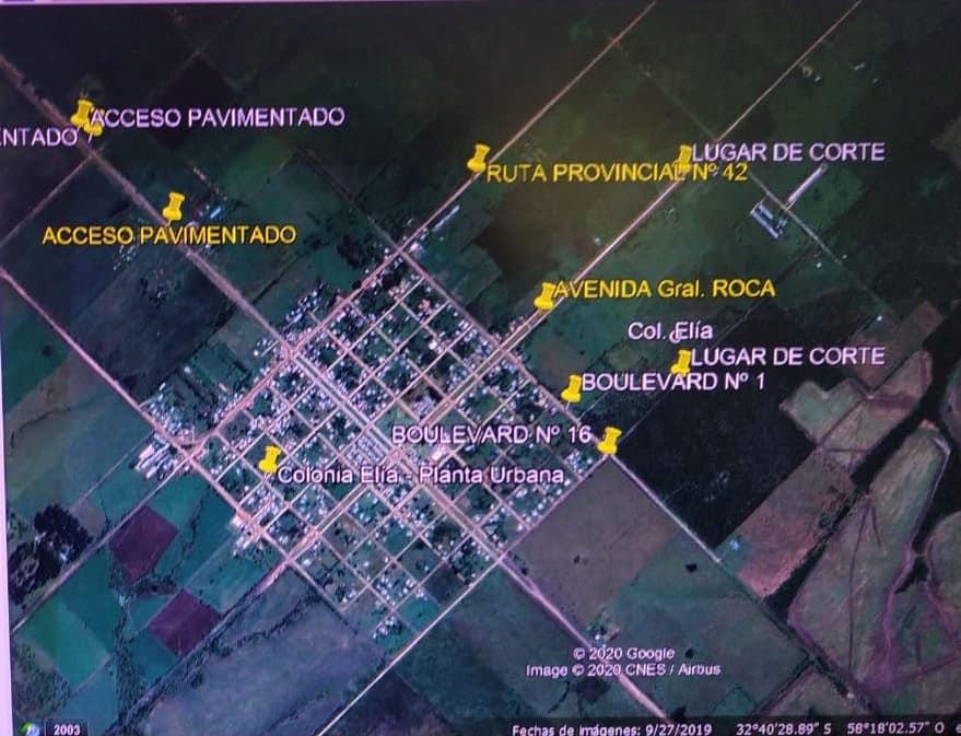 COMUNICADO CORTES EN INGRESO ZONA NORTE.