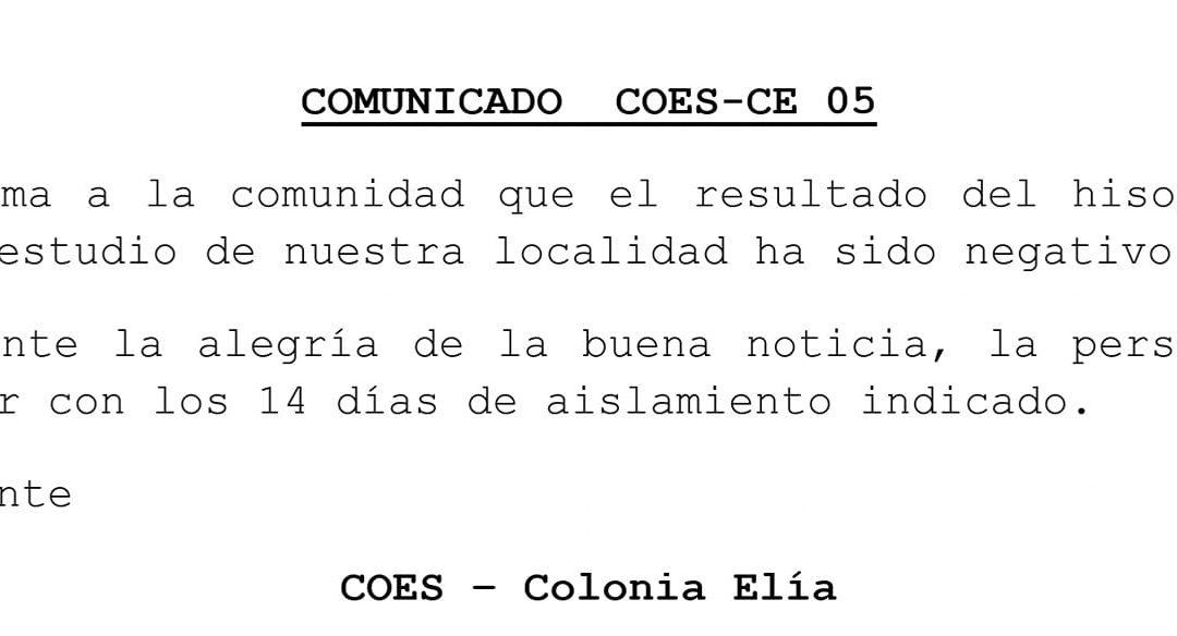 COMUNICADO COES-CE 05- 24/06/2020