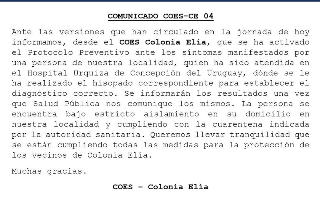 COMUNICADO COES-CE 04 -22/06/2020