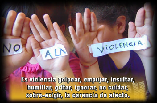 25 de Abril: DIA INTERNACIONAL DE LUCHA CONTRA EL MALTRATO INFANTIL-.