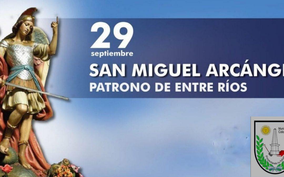 29 de septiembre- Día del patrono de Entre Ríos.